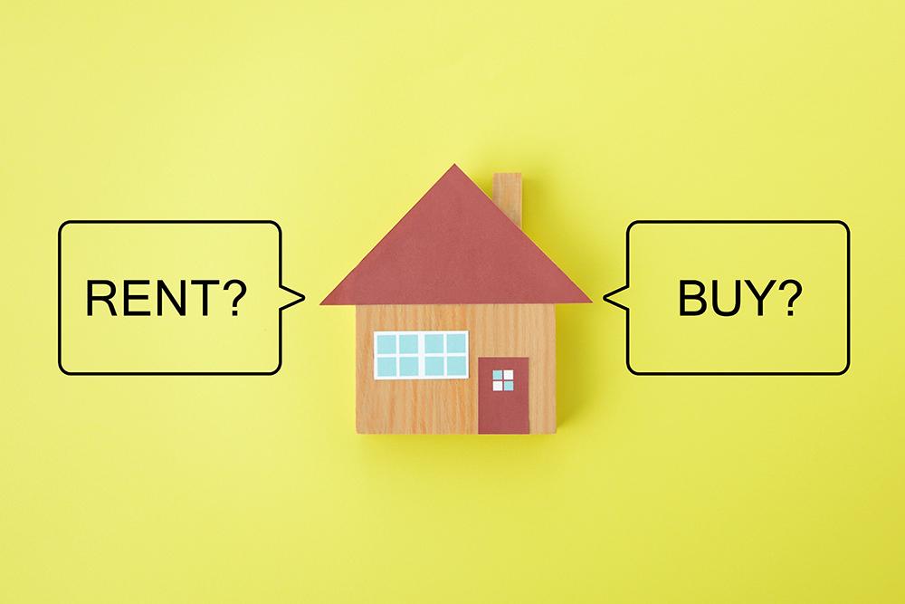 Renting versus buying in Columbia Maryland